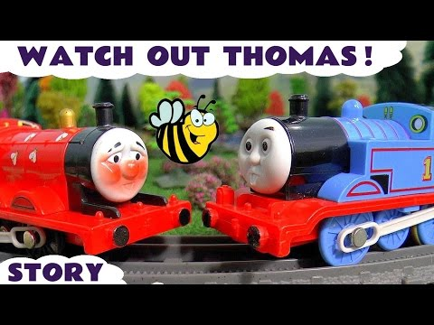 Thumbnail: Thomas & Friends Toy Trains with Play-doh and Toy Shark Stories at Halloween - Toys for Kids TT4U