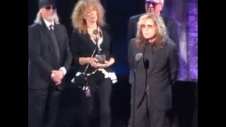 2016 Rock & Roll Hall of Fame -- Deep Purple Complete Induction Speech