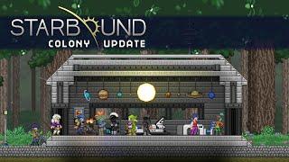 Starbound Colony Update Trailer