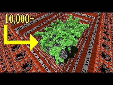 ต้องใช้ TNT เท่าไหร่ถึงจะทำลาย mutant creeper ได้