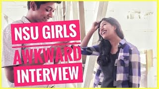 Awkward Interview with NSU Girls ( BF, Husband, Hijab, Cheating, Phone no. , Hero Alom, Shakib Khan)(NEW Interview : https://www.youtube.com/watch?v=WslXDVWJQeU FB ID: https://www.facebook.com/abdullahal.numan.16 FB page: ..., 2016-11-18T13:15:25.000Z)