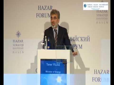 Caspian Forum Açılış Konuşmaları