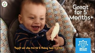 Đồ chơi cho trẻ sơ sinh 5 tháng tuổi   Brain Builder