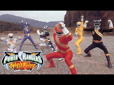 Power Rangers Wild Force - Alternate Opening 2
