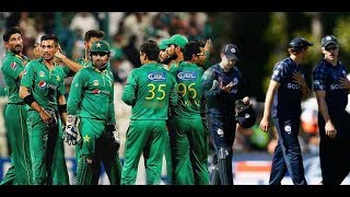 Pakistan Vs Scotland  1st T20  Highlights 2018