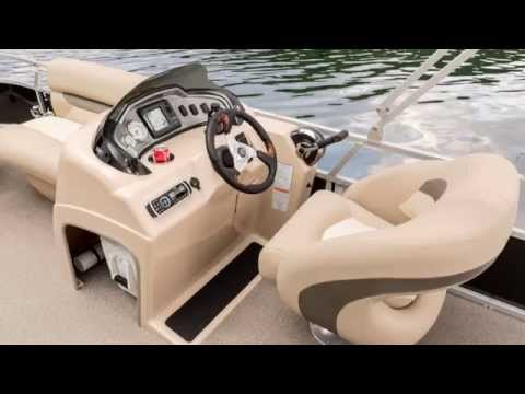 SUN TRACKER Boats 2015 FISHIN' BARGE 20 DLX Pontoon Fishing Boat