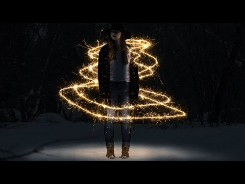 Sparkler Photoshop Action Tutorial (And Light Painting)