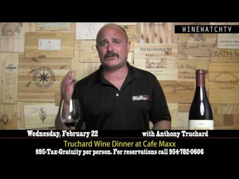 Truchard Wine Dinner at Cafe Maxx - click image for video
