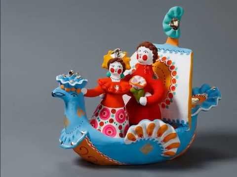 Дымковская игрушка картинки, раскраска и фото для детей