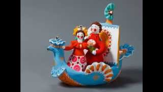 Дымковская игрушка (Dymkovo toys)