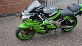 Kawasaki ZX6R - ZX600 J1 - 2000 Plate Video