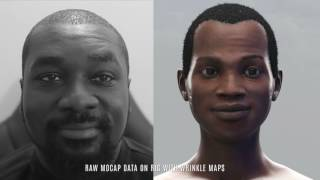 FACIAL MOTION CAPTURE TEST