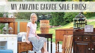 Garage Sale Haul ~ Garage Sale Finds ~ Garage Sale Bargains