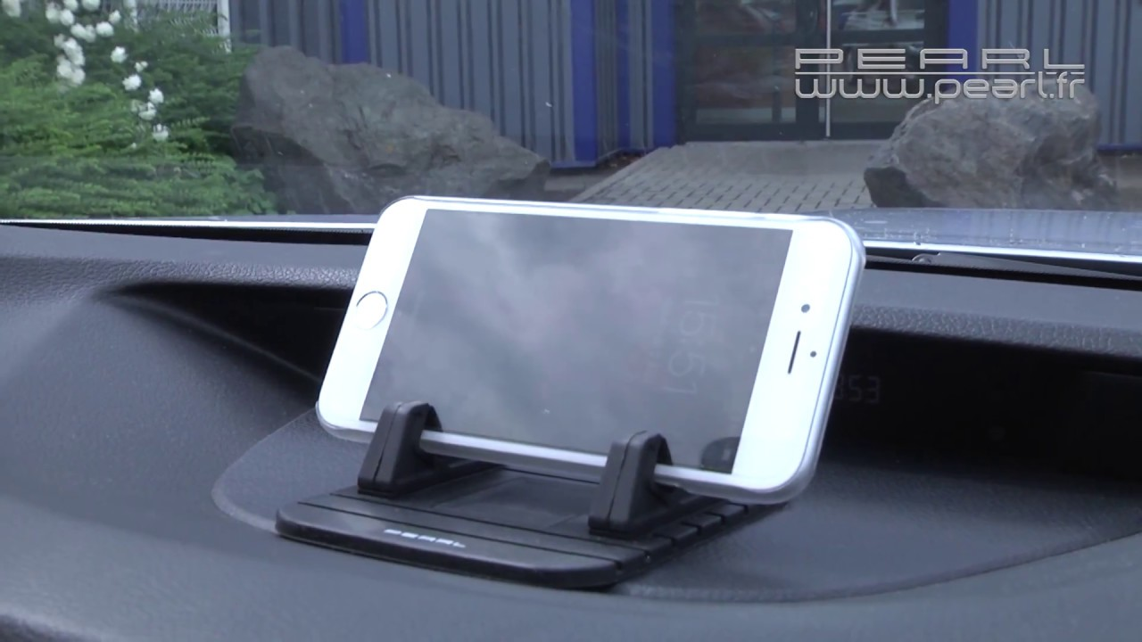 support smartphone pour voiture horizontal gps pearltv fr youtube. Black Bedroom Furniture Sets. Home Design Ideas