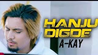 Hanju Digde | Audio Lyrics | A Kay ft saanvi | Sunny MP3 | latest punjabi song 2018