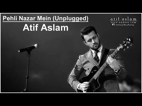 Pehli Nazar Mein (Unplugged) - Atif Aslam   Race   Piano Version   Live Concert