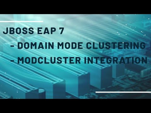 Jboss EAP 7 - Domain mode clustering with Apache mod_cluster integration