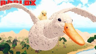LIFE OF CHICK adopted! THE UGLY CHICK AND MAMA DUCK! -ROBLOX Farm World | * For Children * 🐥