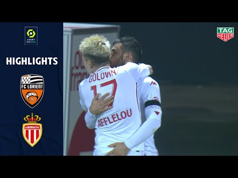 Lorient Monaco Goals And Highlights