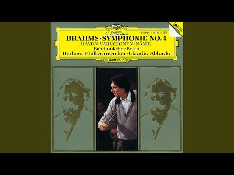 Brahms: Symphony No. 4 in E Minor, Op. 98 - 3. Allegro giocoso - Poco meno presto - Tempo I