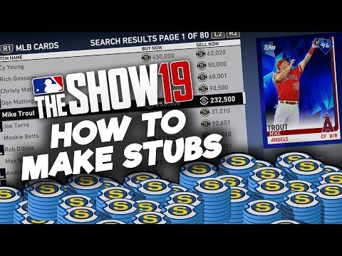 How to Make Stubs Fast in MLB The Show 19 (Tips & Tutorial)