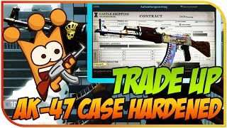 Ak 47 Case Hardened Trade Up | 200$ COINFLIP & 180$ JACKPOT