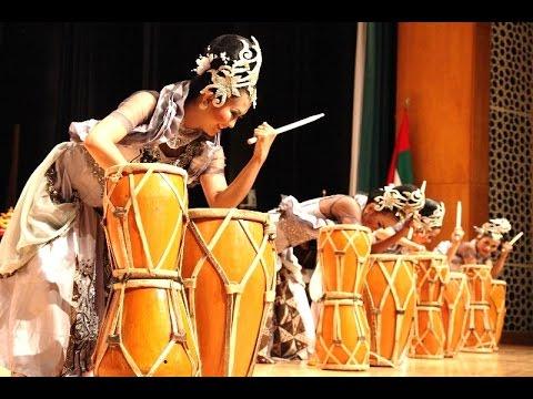 Tari RAMPAK KENDANG JAIPONG - Indonesian Dance - KBRI Abu Dhabi [HD]