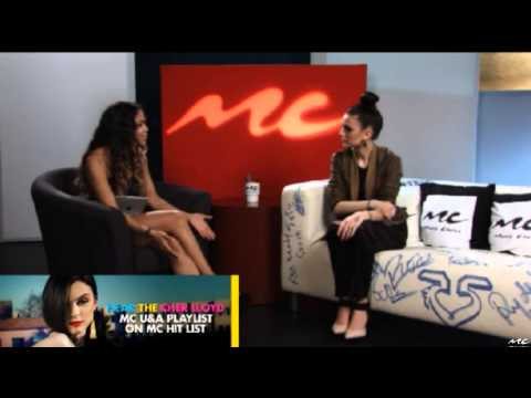 Cher Lloyd interview on U&A (Part 1/3)