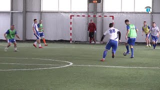 Курские полицейские обыграли росгвардейцев в мини футбол
