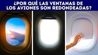 ¿Por qué las ventanas de los aviones son redondeadas?