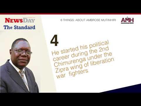 6 things to know about the Mugabe-backed Mutinhiri