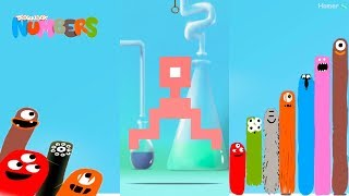 The best Puzzles of Microbes 2 - Dragonbox: Numbers (iPad, iPhone, Android). Fun game for kids.