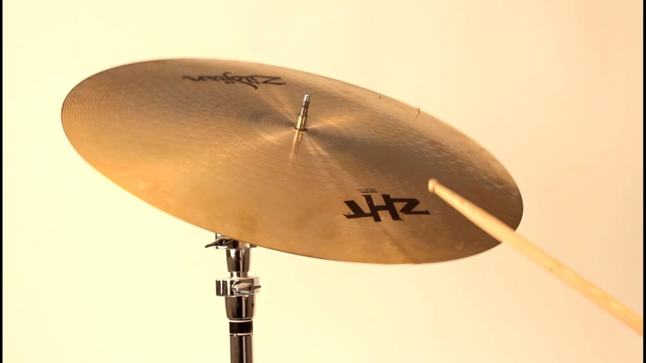 zildjian zht 20 flat ride cymbal w 2 rivets for sale youtube. Black Bedroom Furniture Sets. Home Design Ideas
