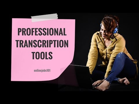 Essential Professional Transcription Tools