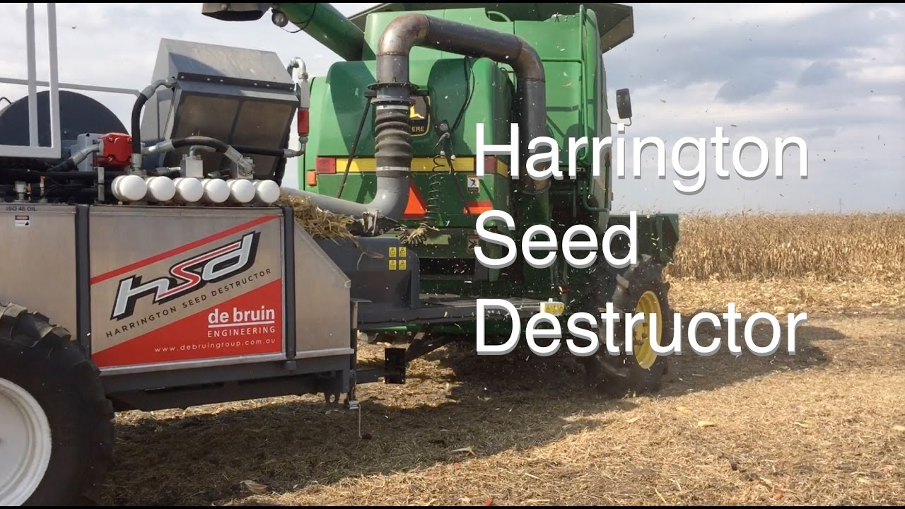 Meet the Harrington Seed Destructor  Could it Curb Herbicide Use?