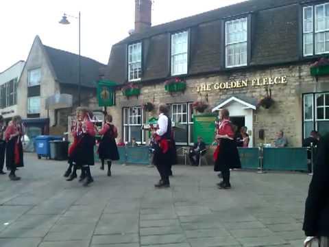 Stamford Lincolnshire, Morris dancers 2011