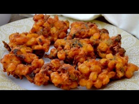 Corn Pakoda || Corn Pakora || Crispy Corn pakoras || corn ...