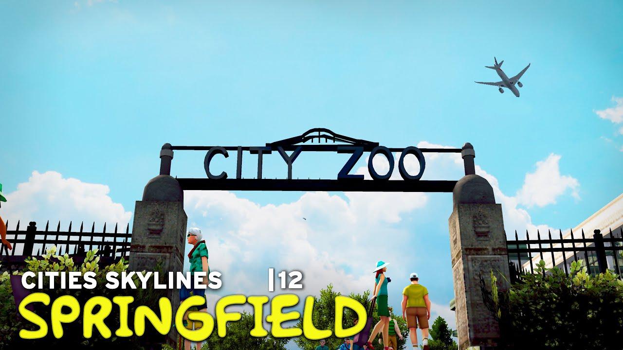 Jebediah Springfield Park | Cities Skylines: Springfield 12