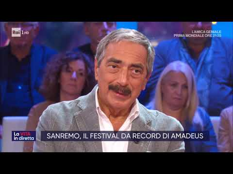 Sanremo, la vittoria di Diodato - La vita in diretta 10/02/2020