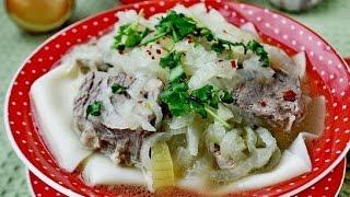 Бешбармак для ленивых. Казахская кухня