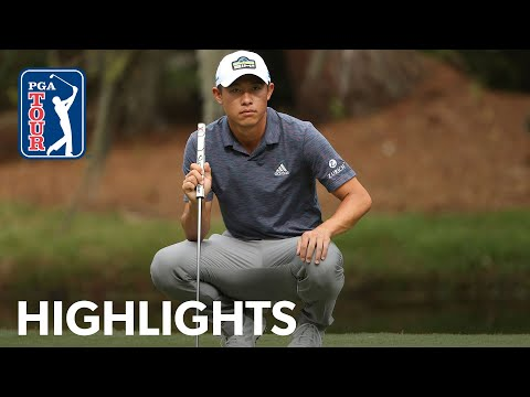 Collin Morikawa shoots 6-under 65 | Round 1 | RBC Heritage | 2021
