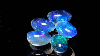 Opal Tripletten 6x4mm