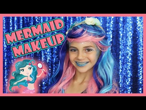 MERMAID MAKEUP TUTORIAL FOR KIDS
