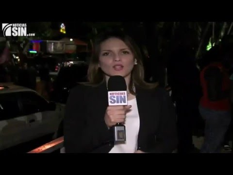 Dominican Republic Election News 2016 | Outside Danilo Medina presidential elections campagin office