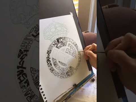 Live Painting Word Art