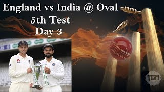 ENGLAND V INDIA 5th TEST |DAY 2 & DAY 3|NO COMMENTARY|ASHES CRICKET GAME|LIVE @ 5:30 PM IST