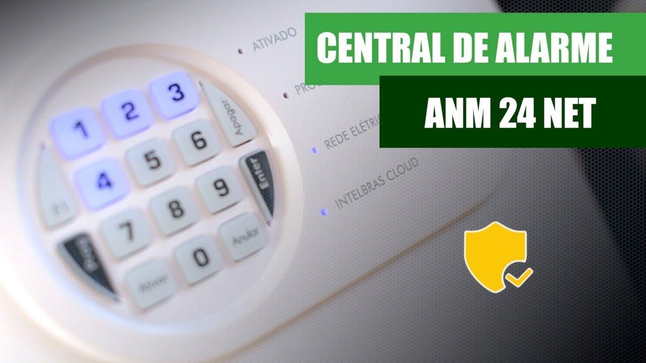 CENTRAL ANM 24 NET INTELBRAS - YouTube