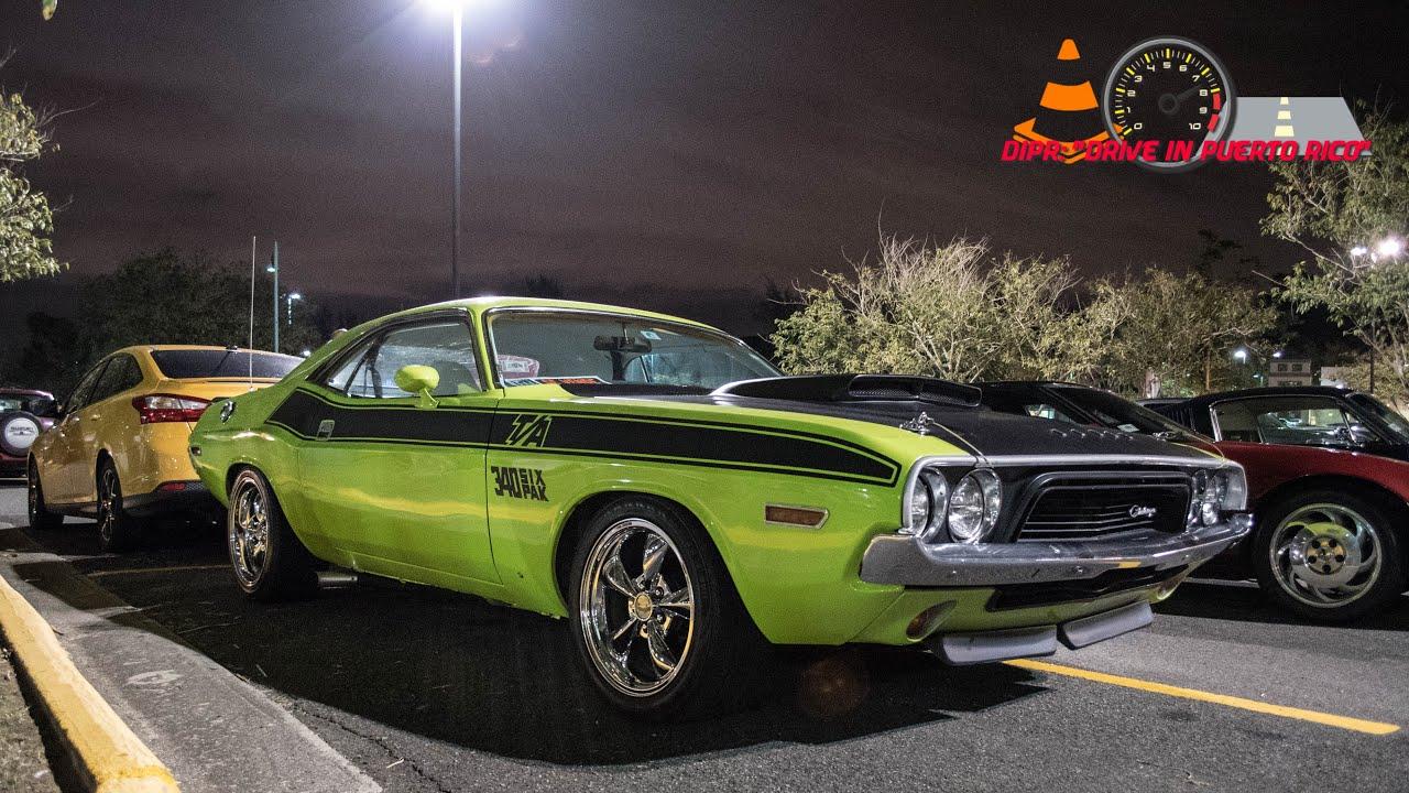 Puerto Rico Car Culture Episode Montehidra Classic Car Night