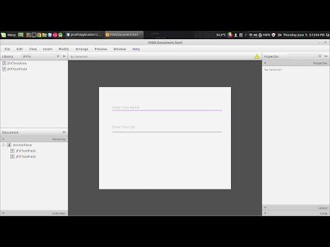 Javafx Jfoenix Tutorial #3 : Jfxtextfield With Input Validation - YT