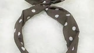 Cara membuat bando dari kain bekas😊|xmipa5|my Instagram:can_tika22😊